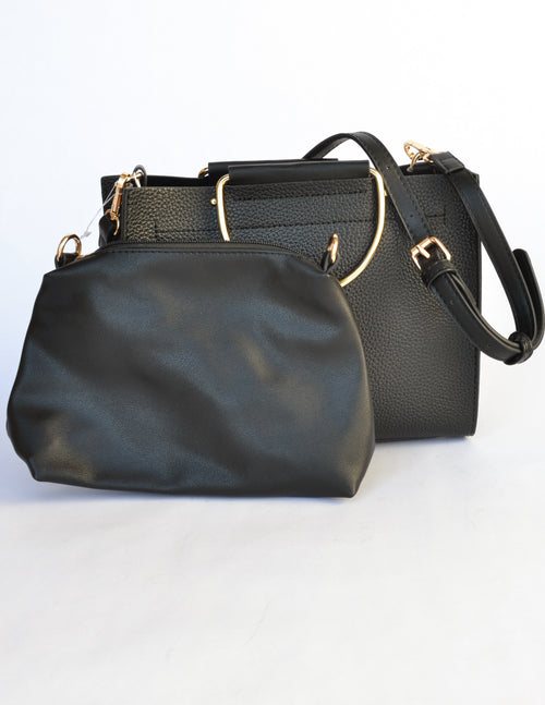 MCKENNA BAG - Black - Elle Bleu Shoe Boutique