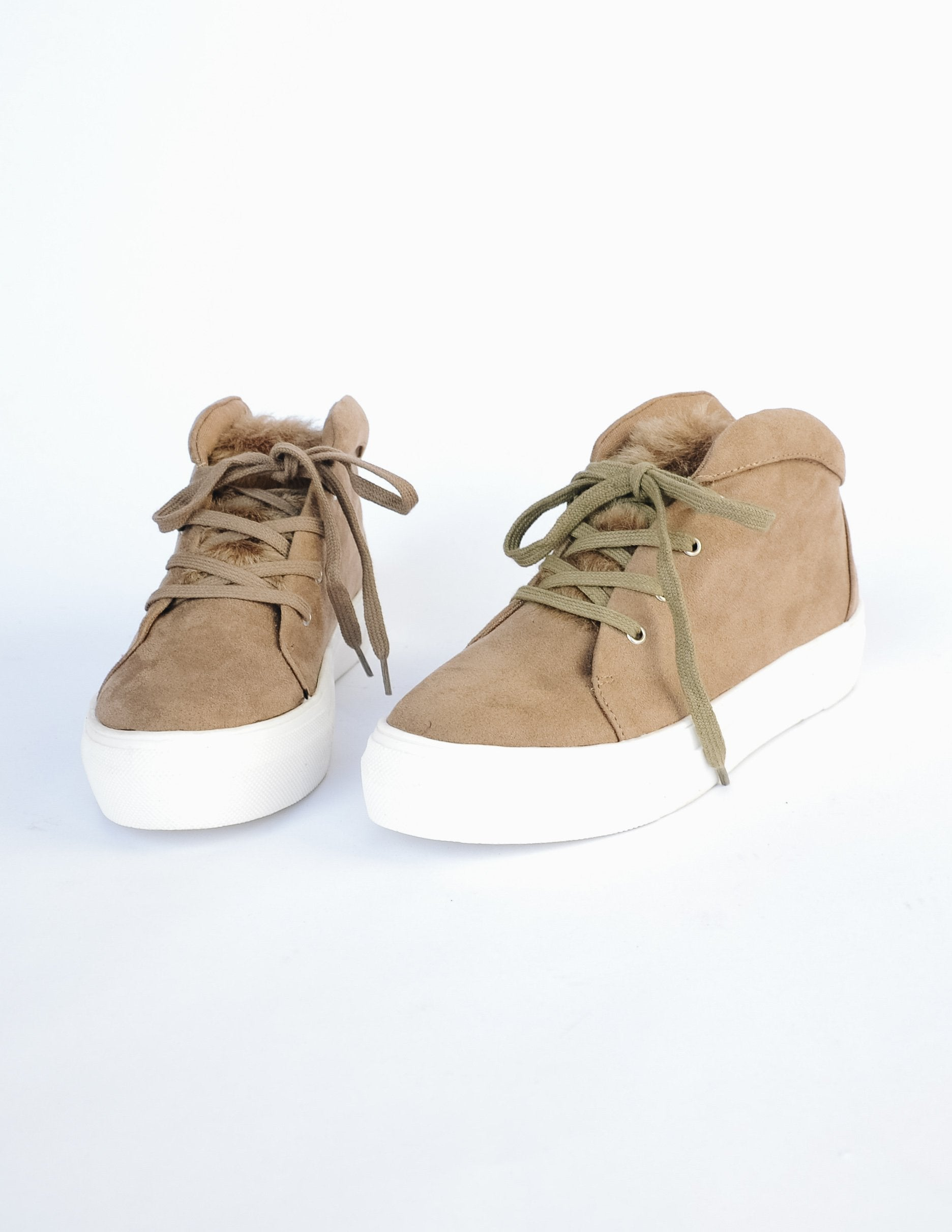 M.I.A. GONE SOFT SNEAKER - Taupe - Elle Bleu Shoe Boutique
