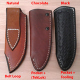 "Leather Sheath - standard size (up to 4"" blade)"