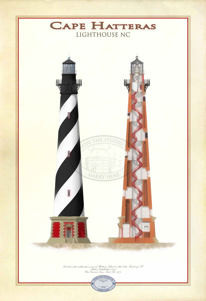 Cape Hatteras Lighthouse Limited Edition Print