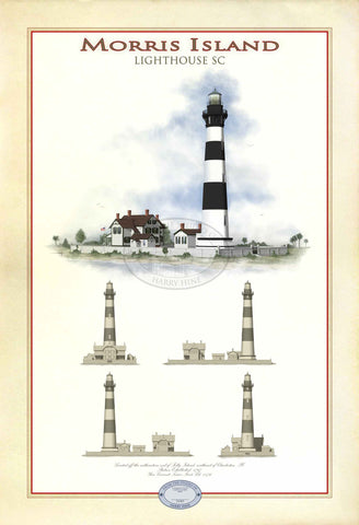 Morris Island Lighthouse Limited Edition Print