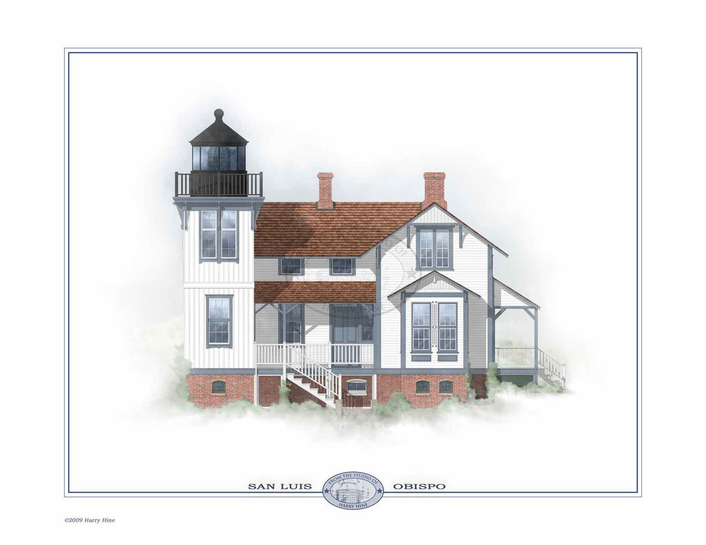 Point San Luis Lighthouse Open Edition Print