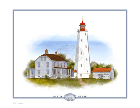Sandy Hook Lighthouse Open Edition Print