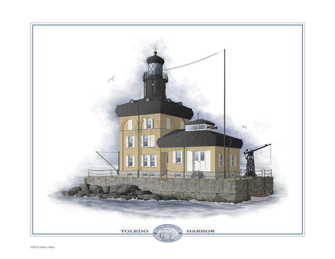 Toledo Harbor Lighthouse Open Edition Print