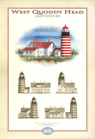 West Quoddy Head Lighthouse Limited Edition Print