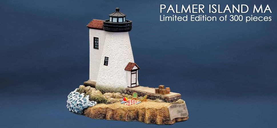 Palmer Island Lighthouse sculpture