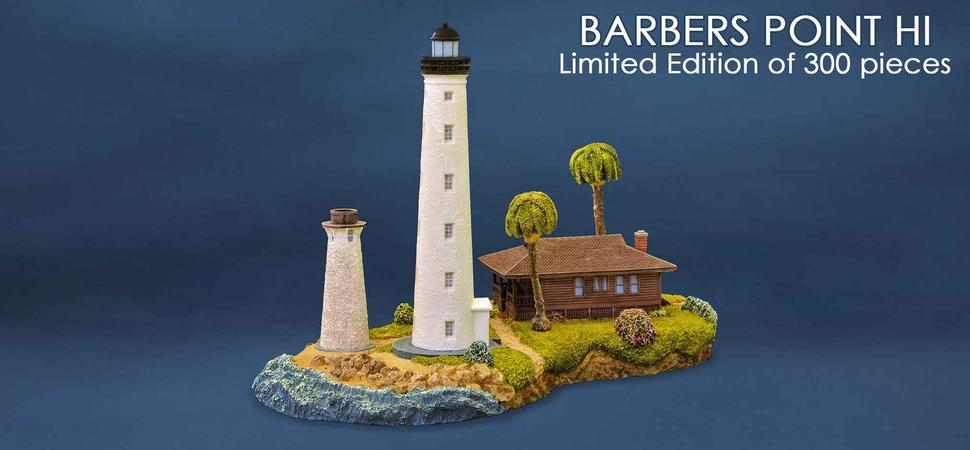 Barbers Point Lighthouse sculpture