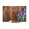 """Lavender"" On Barnboard PHOTO CHALKBOARD  Includes Chalkboard, Chalk Marker and Stand"