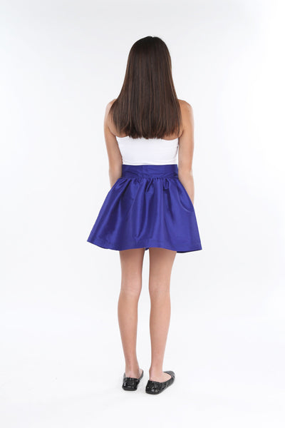 Royal Blue KamrynJean Mini Skirt