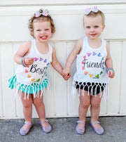 Rainbow Heart Wreath Kids