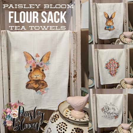 Easter Tea Towel Collection