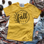 Fall Circle (Pie) Kids