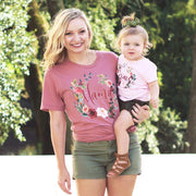 Mama Rosey Fall Wreath UNISEX Tee