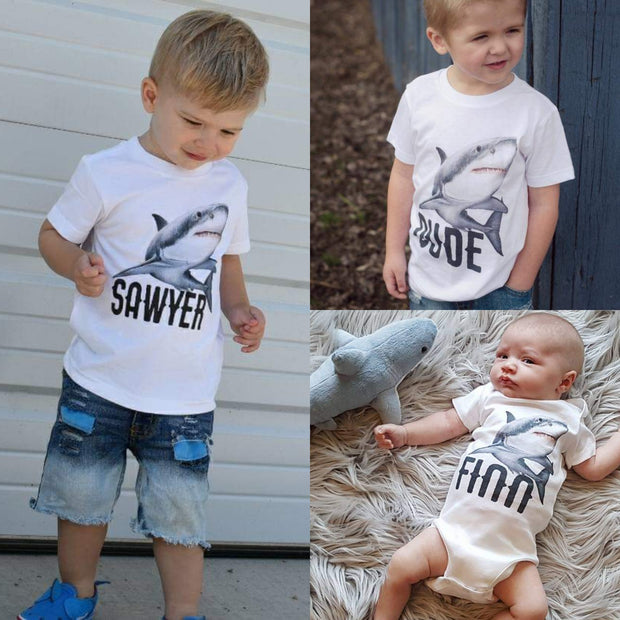 Personalized Shark Kids