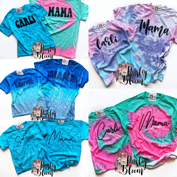 Tie Dye Mama -Adult
