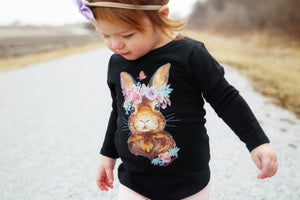 Original Paisley Bloom Bunny Short/Long/Hooded Tee