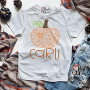 Zen Pumpkin Personalized Kids