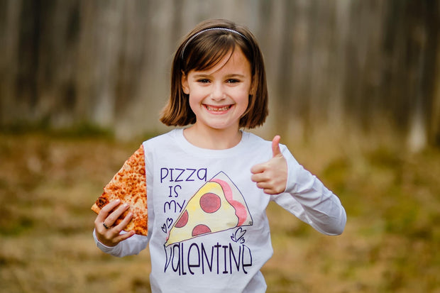 Pizza Is My Valentine Kids