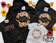 Thankful Mama Orange Floral