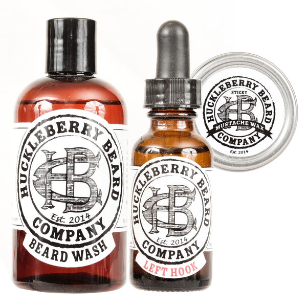 Huckleberry Beard Company - Bare Bones Beard Bundle