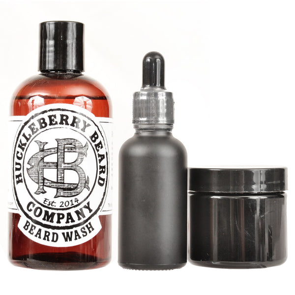 Huckleberry Beard Company - Tier One Complete Beard Bundle