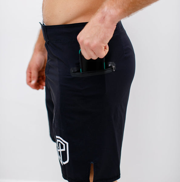 Born Primitive - American Defender Shorts 2.0 - Black
