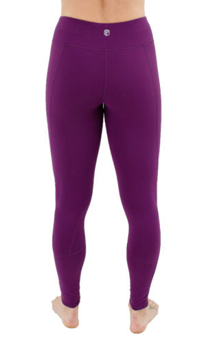 Born Primitive - Essential Leggings 2.0 - Eggplant Purple