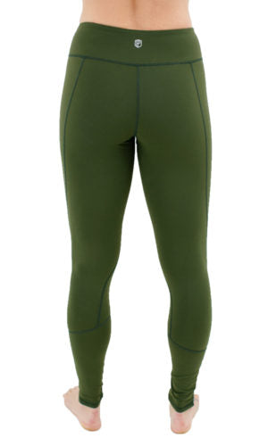 Born Primitive - Essential Leggings 2.0 - Tactical Green
