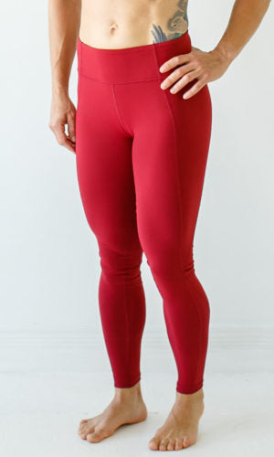 Born Primitive - Essential Leggings 2.0 - Wine