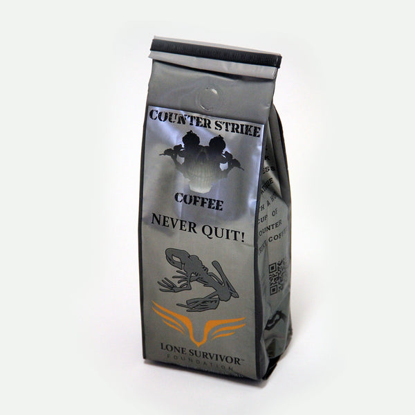 Counter Strike Coffee - Never Quit Coffee for the Lone Survivor Foundation - 12 oz