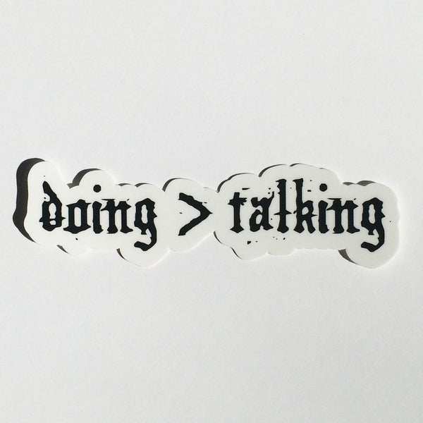 30 Seconds Out - Doing > Talking Sticker