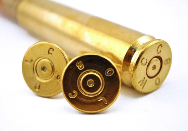 Bullets2Bandages - .50 Caliber Bullet Cufflinks
