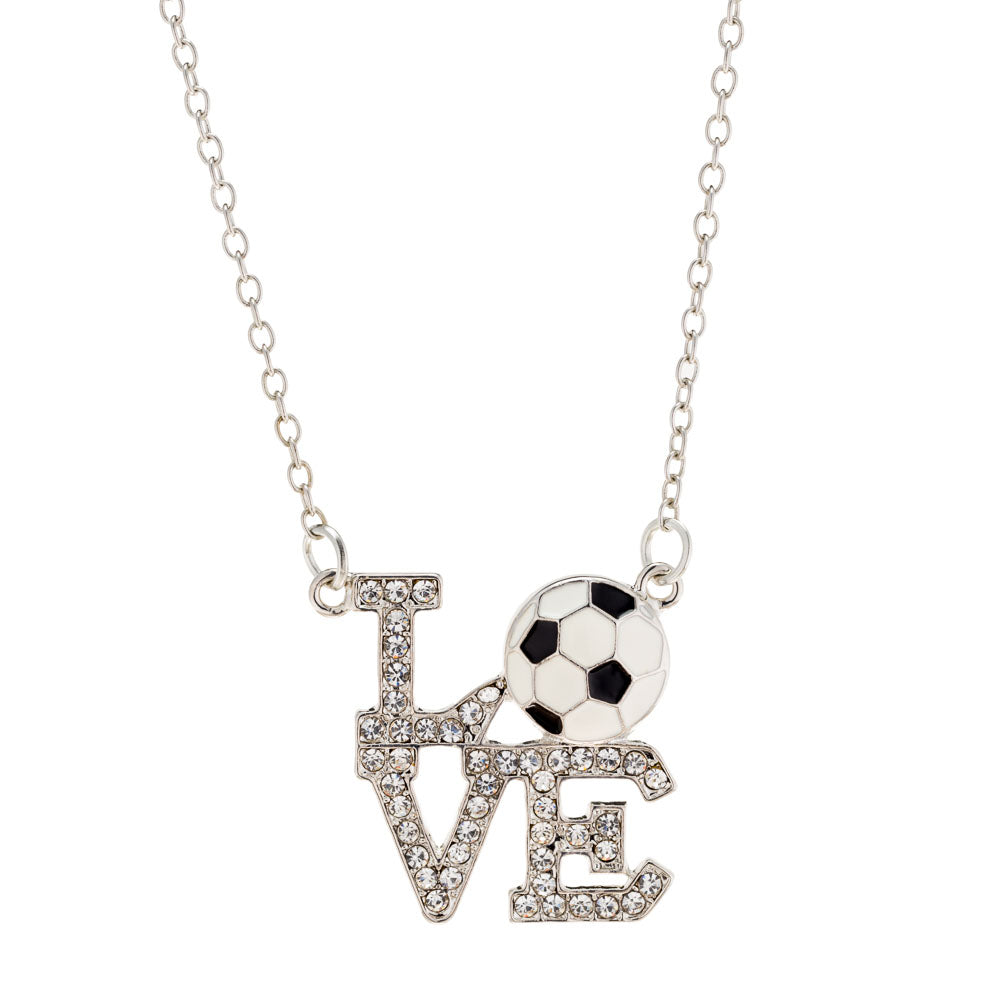 Soccer Love Necklace