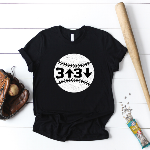 3 Up 3 Down T-Shirt
