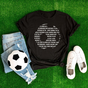 Always Cheering Soccer T-Shirt