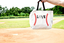 Load image into Gallery viewer, Love Baseball Tote Bag