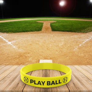 Baseball Team Color Wristband