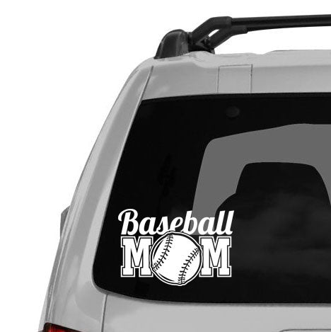 Baseball Mom Decal