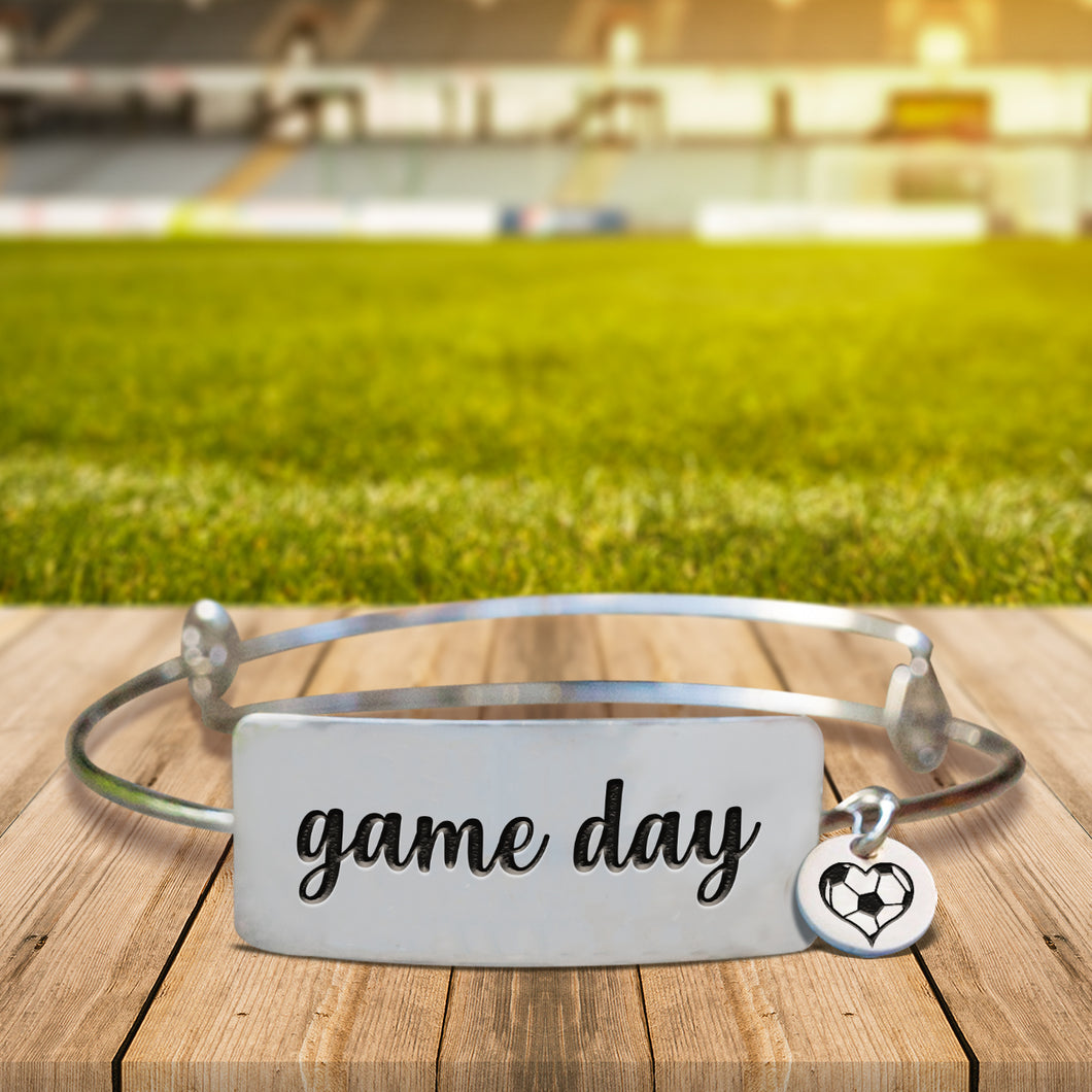 Game Day Bangle Bracelet