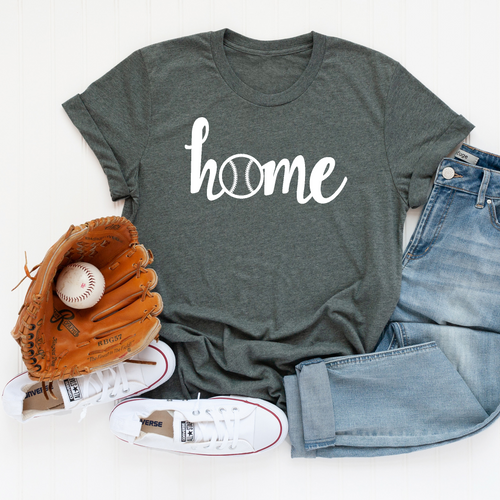 Baseball Home T-Shirt