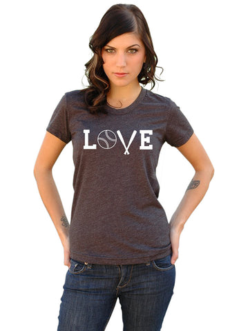Baseball Mom LOVE T-Shirt