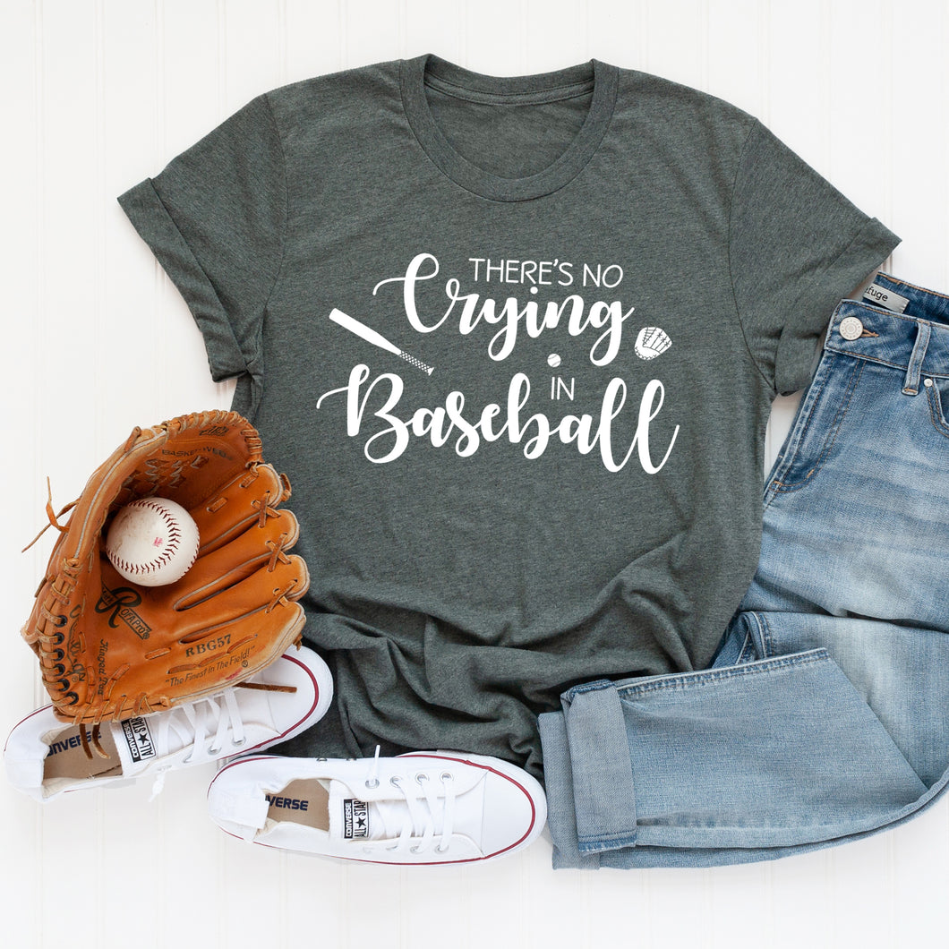 No Crying In Baseball T-Shirt