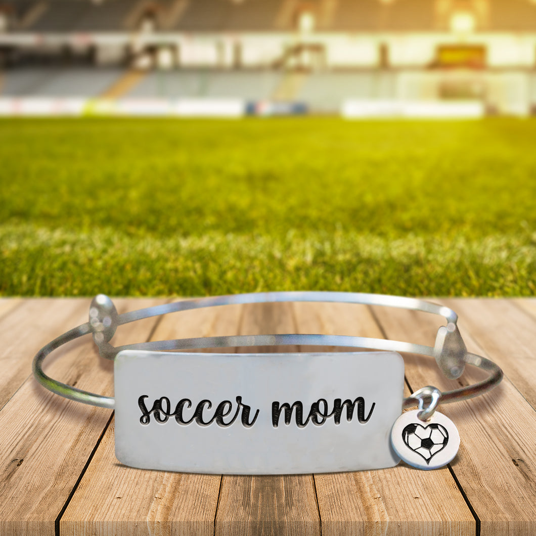 Soccer Mom Bangle Bracelet