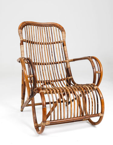 CHAIR RATTAN ANTIQUE