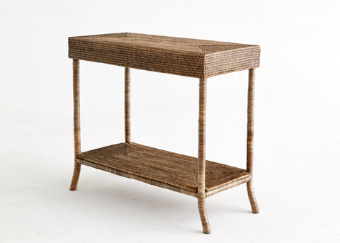 Rattan Reception Table