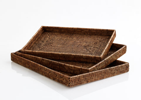 Tea trays (set of 3) no handles