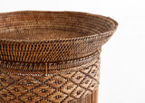 Ikat Round Side Table
