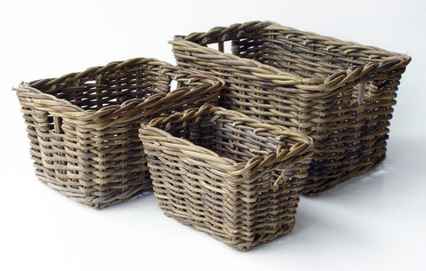 STORAGE BASKET SET OF 3