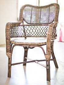 Rattan Safari Chair