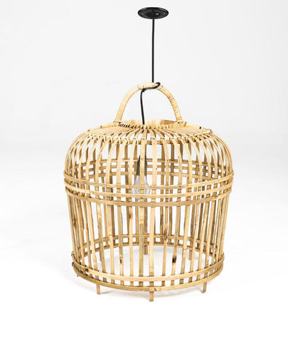 MEDIUM BAMBOO LIGHTSHADE - NATURAL